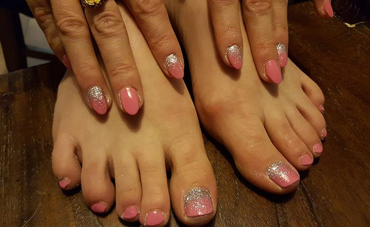 Style Matching Fingers and Toes – Amanda\'s Amazing Nails