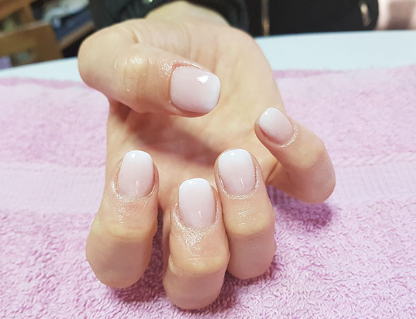 Acrylic French Ombre Nails